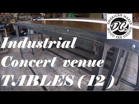 DC. TWELVE TABLES FOR LIVE MUSIC VENUE.