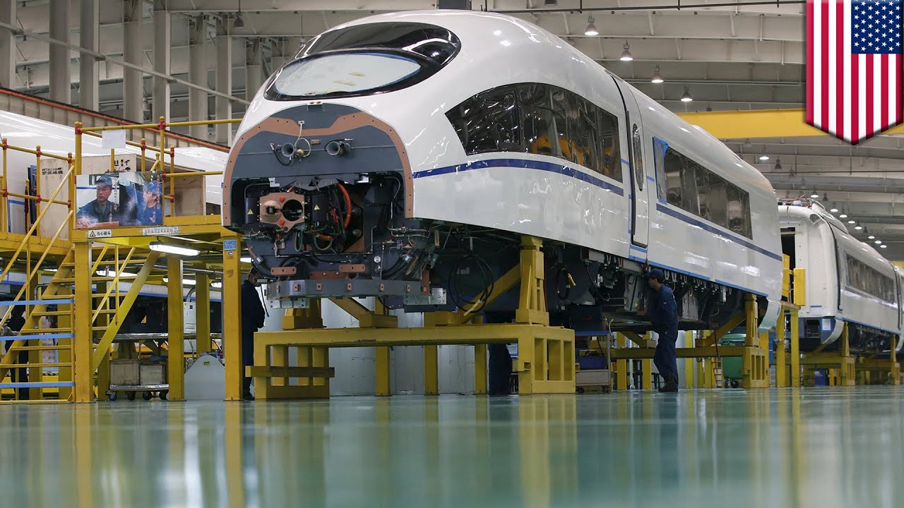 an analysis of the advent of high speed train systems in china