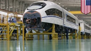 High-speed rail from Las Angeles to Las Vegas to be built with help from Chinese company - TomoNews