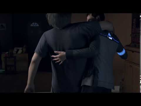 Detroit: Become Human  Drunk Hank Screaming Clancy Brown Going Nuts