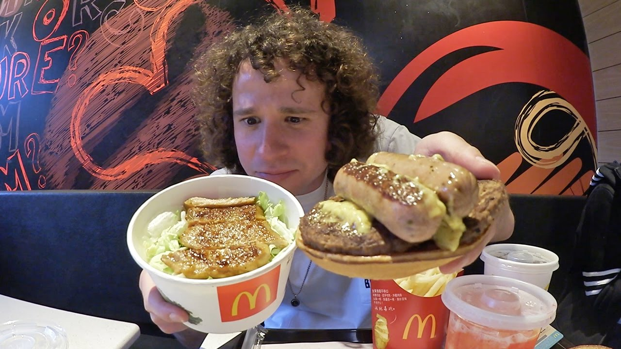 As es la COMIDA RPIDA AMERICANA en CHINA  YouTube