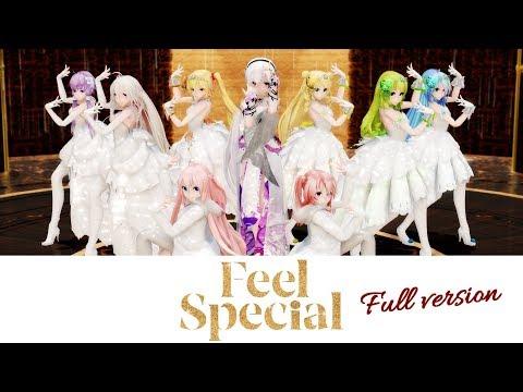 【MMD】TWICE - Feel Special (Full ver.)【50 models/14 scenes】Vocaloids[4K]
