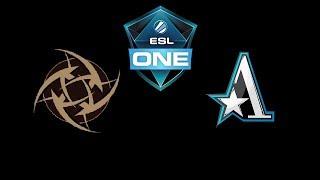 NiP vs Team Aster ESL One Katowice 2019 Highlights Dota 2