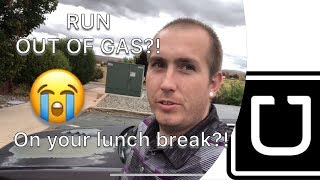 Inside The City | Uber on Lunch | FAIL; Out Of Gas