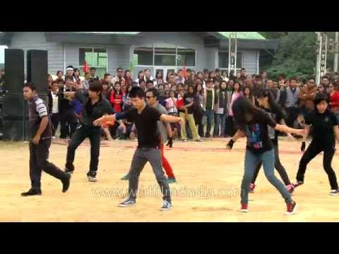 Superb Modern dance by ICFAI University, Mizoram