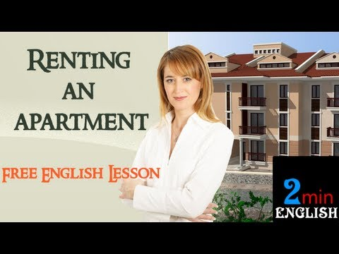 Renting an apartment - Free English Lesson