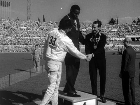 Friends Rafer Johnson & Chuan-Kwang Yang Take Gold & Silver - Rome 1960 Olympics