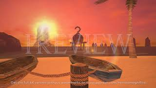 Zelda Majora's Mask 3D 4K (Great Bay at Sundown) - 4K 60FPS Looping Background by Henriko Magnifico