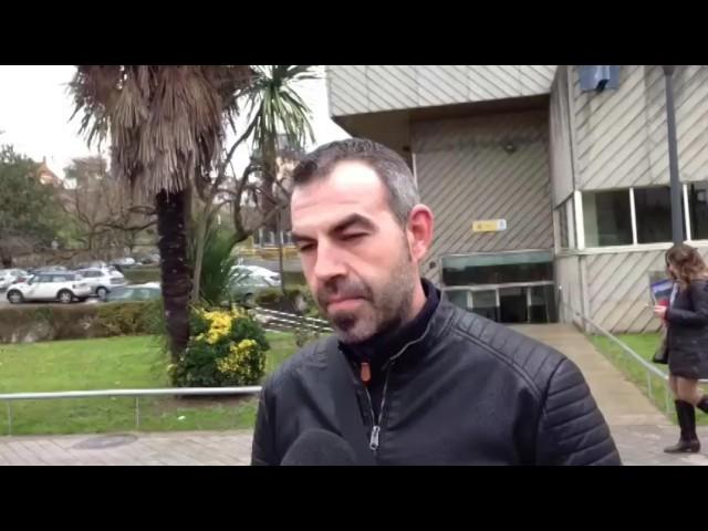 Carlos Pérez, policía presente en el suceso, cuenta su intervención ante el atracador