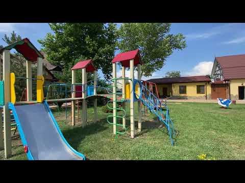 Обзор детской площадки —База отдыха Тюльпан