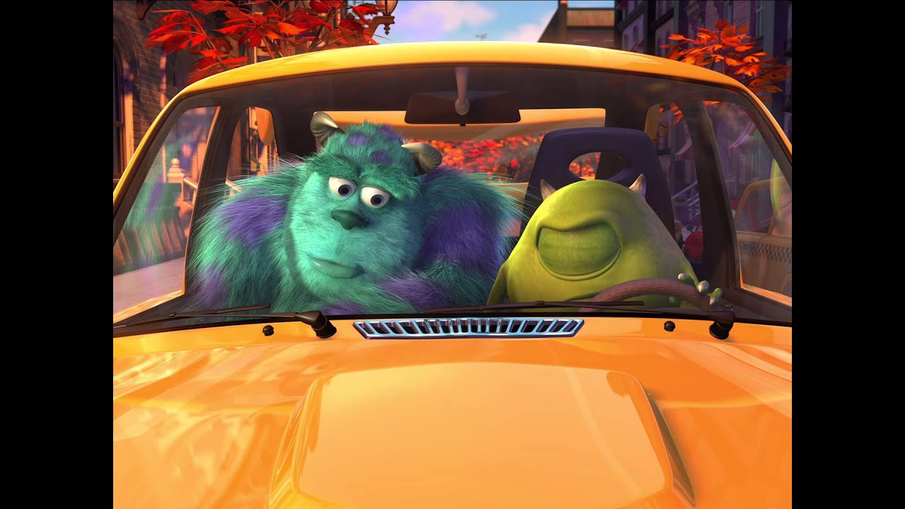 Monsters Inc Mike S New Car Finding Nemo