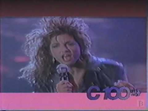 C100 FM Radio Light Rock Hits Commercial 1990