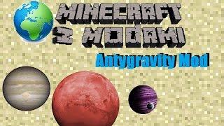 Minecraft z modami #72 - Antygravity mod - Grawitacja!