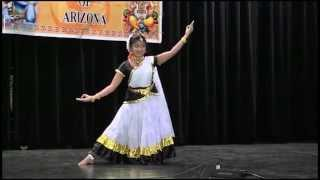 KHA Vishu Celebration 2014 - Semi Classical Dance by Remya Arun Krishnan