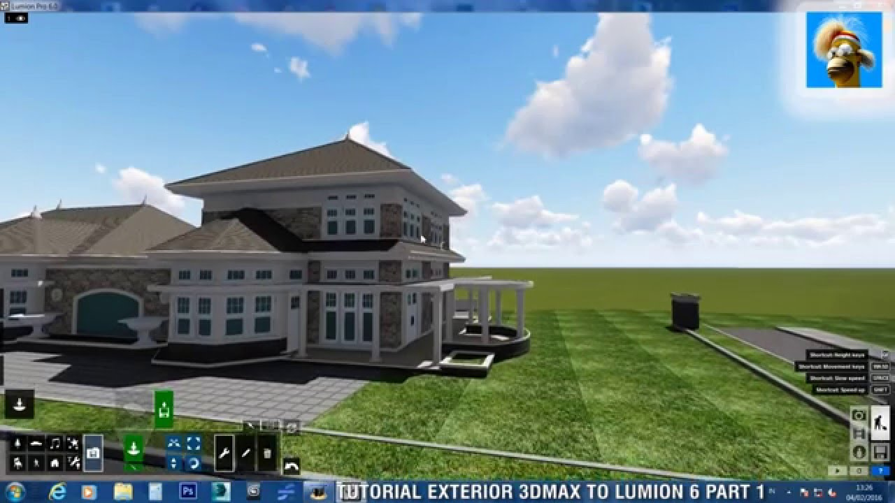 lumion 3ds max export