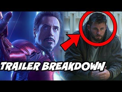 Avengers 4 Endgame Official Trailer Breakdown In Hindi Explained thumbnail