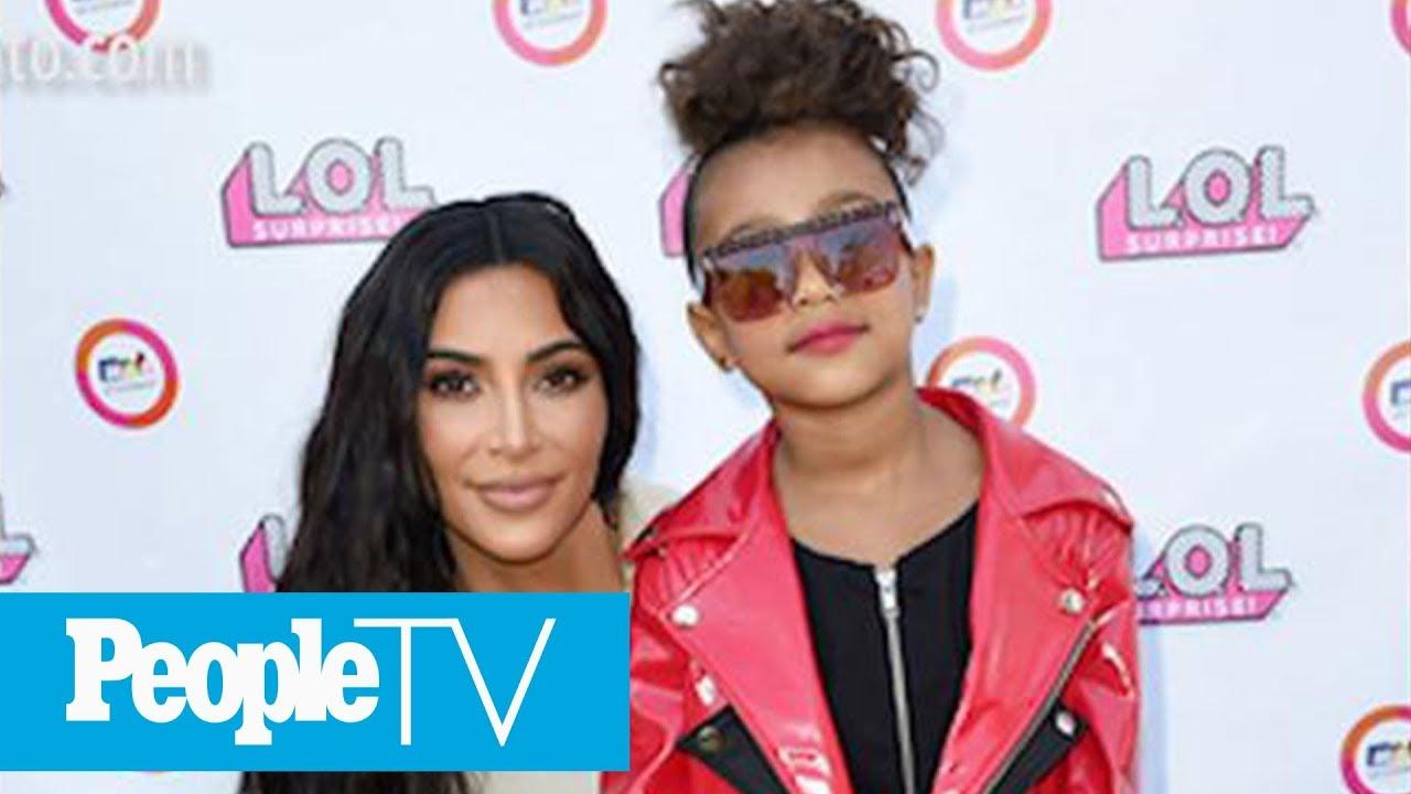 North West, 5, Makes Her Runway Debut As Proud Mom Kim Kardashian Cheers Her On | PeopleTV