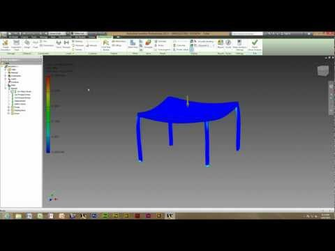 Autodesk Inventor 2014 - Using And Creating A Stress Analysis