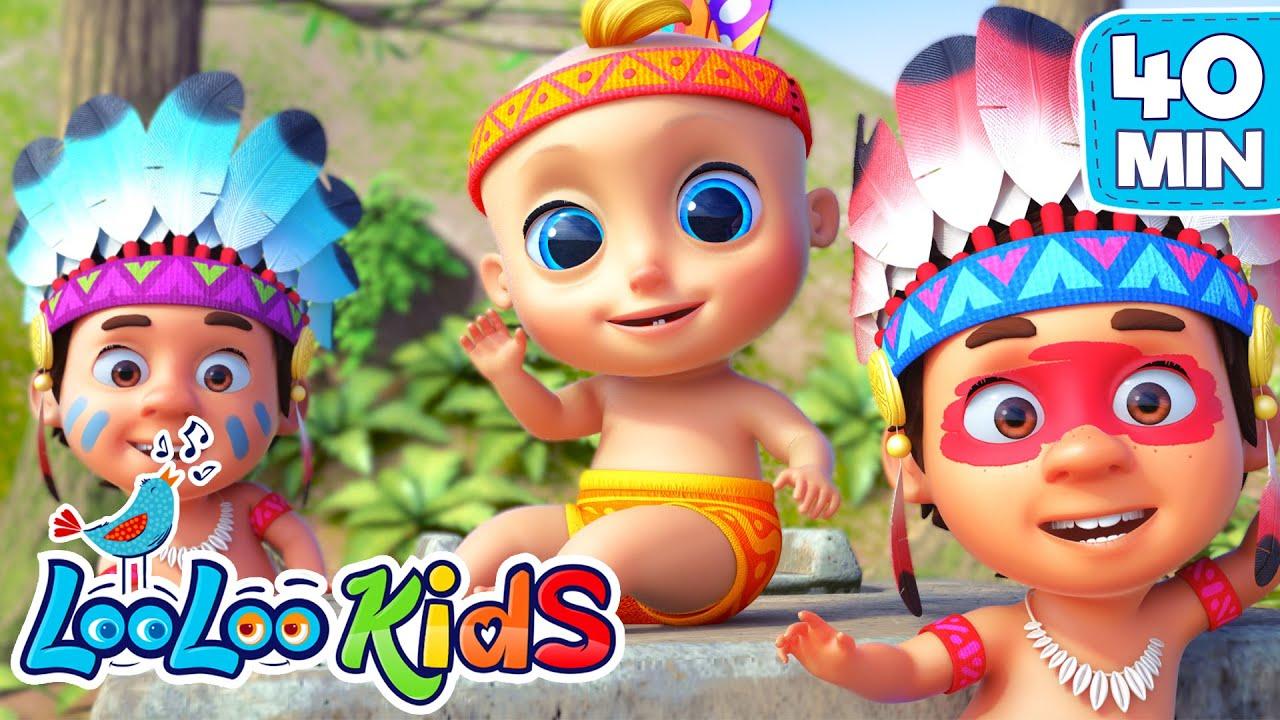 Ten Little Friends and more Songs for KIDS | LooLoo KIDS Nursery Rhymes