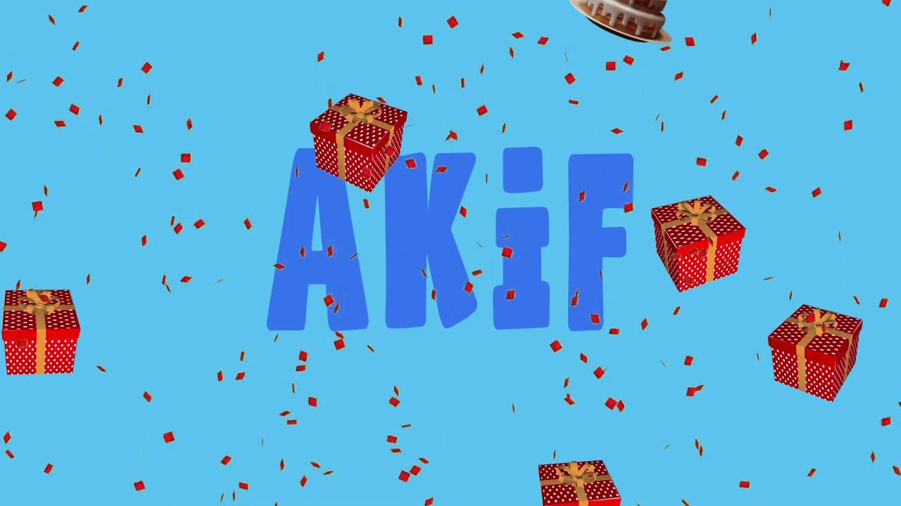 İyi ki doğdun AKİF - İsme Özel Ankara Havası Doğum Günü Şarkısı (FULL VERSİYON) (REKLAMSIZ)