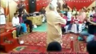 funny dance with old man baba