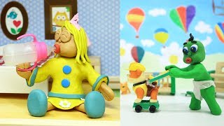 Baby's First Months Stop Motion / OKG Baby Videos & Kids Cartoons