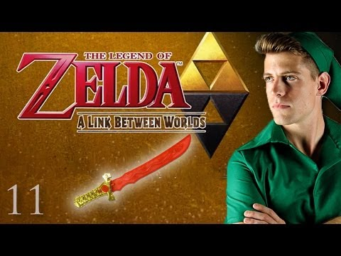 BLINDING LIGHTS OF FURY SWORD | Zelda: Link Between Worlds (11)