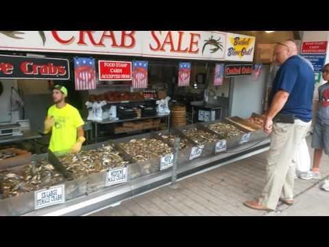 Washington DC / Best Seafood On The East Coast Wharf Market 7-12-17