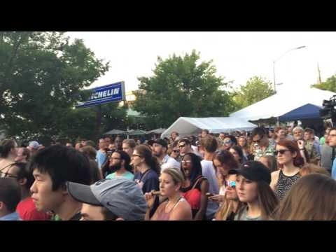 WRENN beatboxes at AthFest 2016