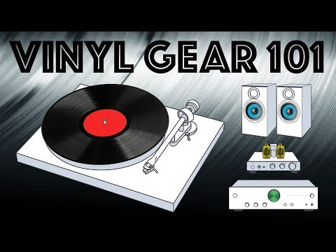 Vinyl Gear 101 - Putting together a stereo system to play vinyl Mp3