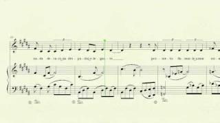 Deseos de cosas imposibles (LODVG), voz y piano