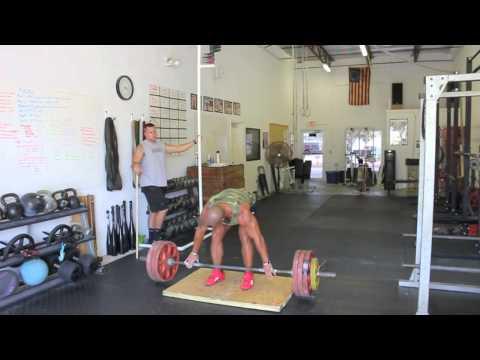 Best Vertical Jump Workout (deadlift / jump complex)