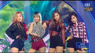 Gambar cover BLACKPINK​ - '휘파람(WHISTLE)' 0828 SBS Inkigayo