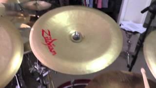 Zildjian China Cymbal Comparison - Four Different Chinas (Z, K, Oriental)