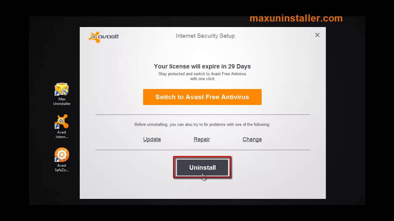 Perfectly remove avast free antivirus 2015 how to do it - How To Perfectly Uninstall Avast Internet Security 2016