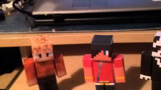 Minecraft | Skins on Paper Models | PaperCraft