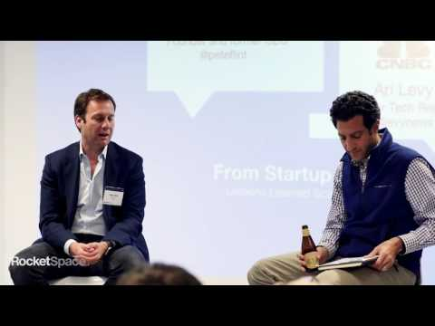 From Start up To IPO: A Conversation with Pete Flint + Ari Levy | RocketSpace Speaker Series
