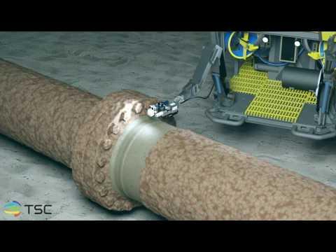 TSC MagCrawler - ACFM®  Remote Subsea Inspection