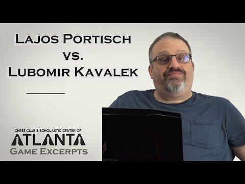 Portisch Vs Kavalek (1975)    Game Excerpts With GM Ben Finegold