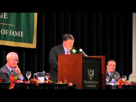 2012 Manhattan College Athletic Hall of Fame Induction