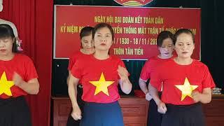 Tiếng chày trên Sóc Bom Bo, ST: NS Xuân Hồng. Đội DVTT hội phụ nữ Xã Hồng Giang Đông Hưng Thái Bình.
