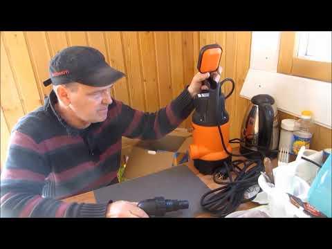 # Дренажный насос Вихрь 750 в работе # Качаю новый колодец # Обзор и тест #           #