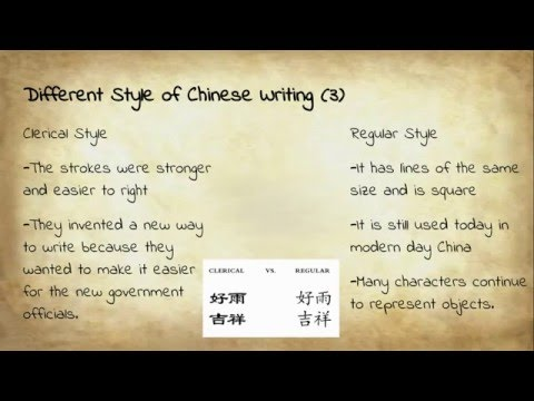 Ancient China Chinese Writing