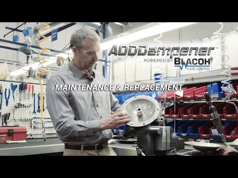 BLACOH AODDampener Diaphragm Replacement & Assembly