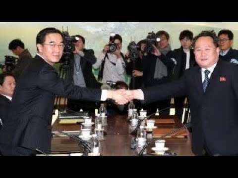 North and South Korea meet for historic talks