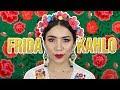 Maquillaje Para Fiestas Mexicanas Muy A La Frida Kahlo