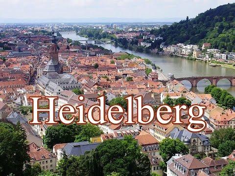 Heidelberg von oben - Blick auf die Altstadt