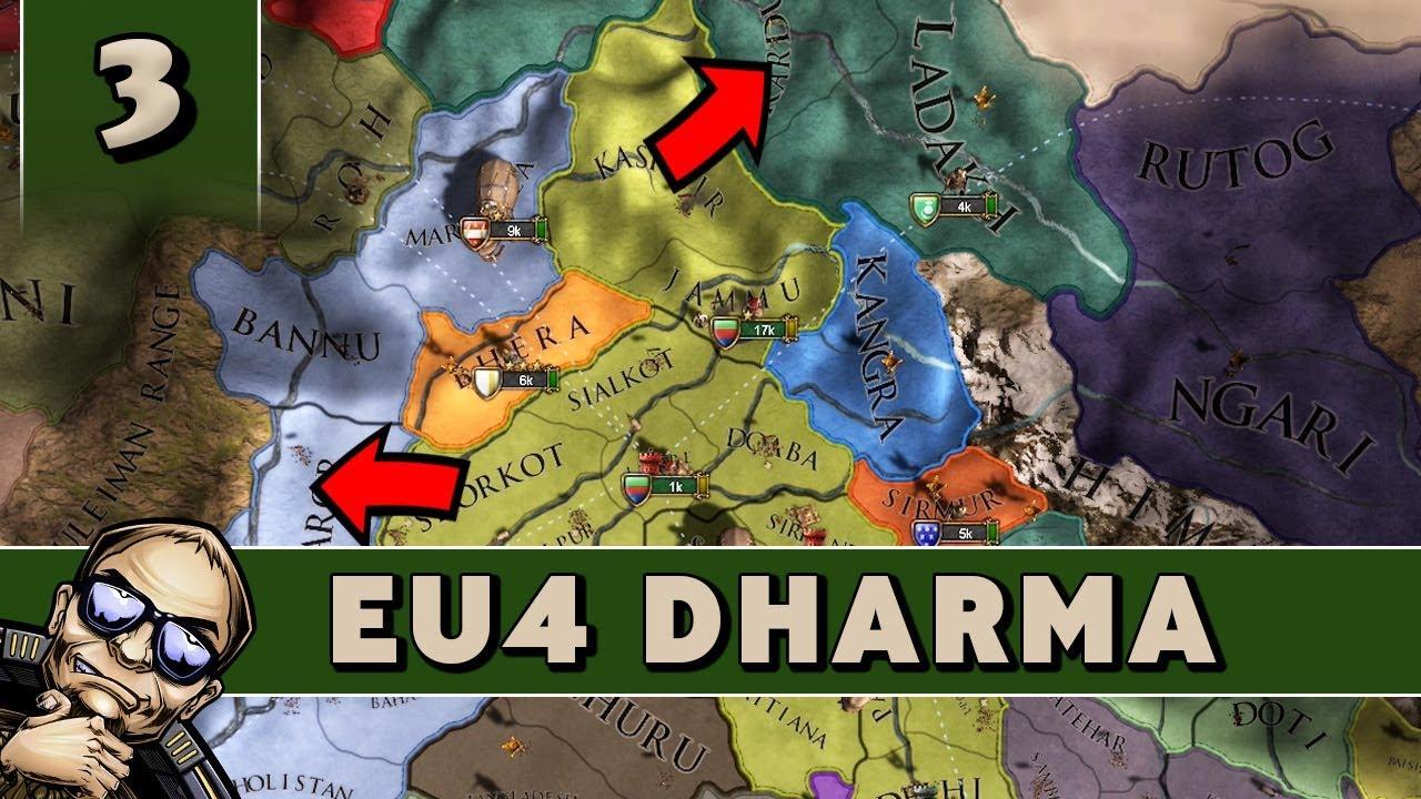 Europa Universalis 4 Dharma - Part 3 - Let's Play EU4 as Delhi