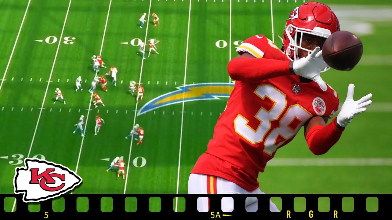 Chiefs L'Jarius Sneed - MONSTER Tops NFL in INTs - Film Room