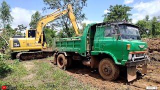 รถ 6 ล้อดั้ม คุณปู่ KR 320 คลาสสิค วิ่งลูกรัง ทางหนืดๆไหวไหม excavator Dump Truck